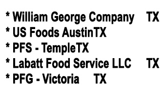 Food Service Distributors - Muffin Town
